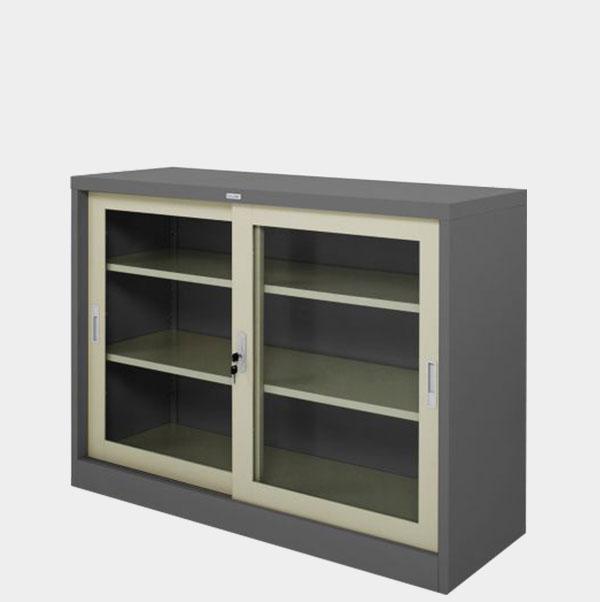 ตู้บานเลื่อนกระจก-4-ฟุต-รุ่น-ZDG-324-สีเทาสลับ