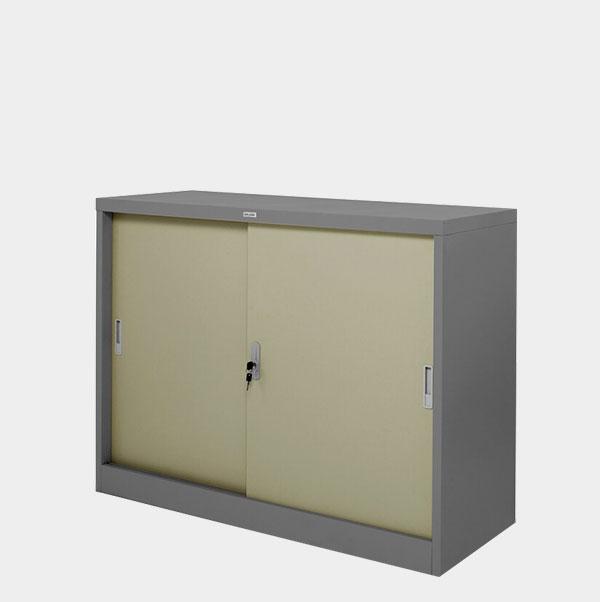 ตู้บานเลื่อนทึบ-4-ฟุต-รุ่น-ZDO-314-สีเทาสลับ