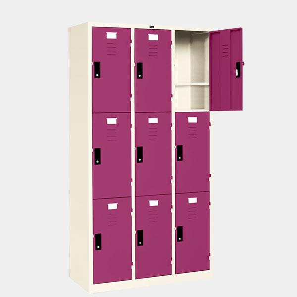 ตู้ล็อคเกอร์-9-ประตู-รุ่น-LK-9-สีม่วง