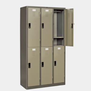 ตู้ล็อคเกอร์ 6 ช่อง รุ่น LK-6