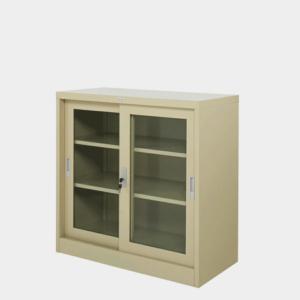 ตู้บานเลื่อนกระจก 3 ฟุต รุ่น ZDG-323