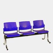 เก้าอี้แถวพักคอย 3 ที่ันั่ง ICONIC รุ่น WT-342