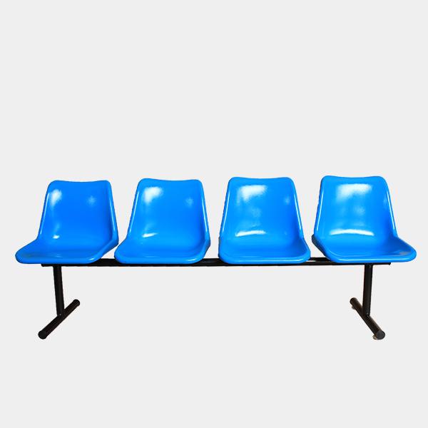 เก้าอี้แถว 4 ที่ันั่ง รุ่น WT-4