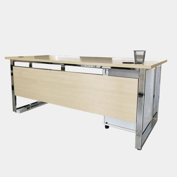 โต๊ะทำงาน, โต๊ะทำงานผู้บริหาร, โต๊ะทำงานขาเหล็ก