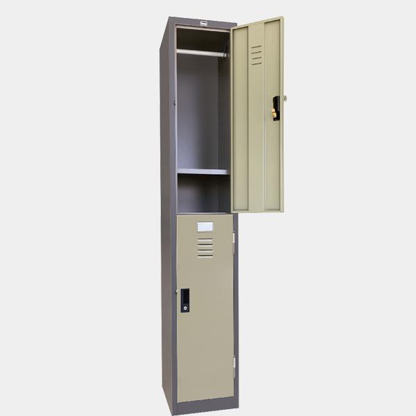 ตู้ล็อคเกอร์, ตู้ล็อคเกอร์, ตู้บานเดี่ยว, ตู้ล็อคเกอร์ 2 ประตู