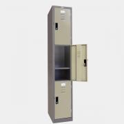 ตู้ล็อคเกอร์ 3 ประตู รุ่น LKD-3