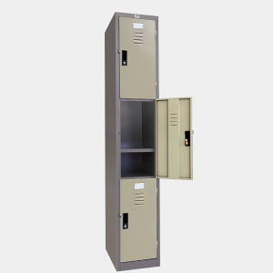 ตู้ล็อคเกอร์, ตู้ล็อคเกอร์, ตู้บานเดี่ยว, ตู้ล็อคเกอร์ 3 ประตู