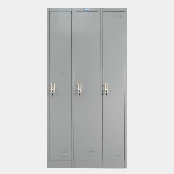 ตู้ล็อคเกอร์, ตู้ล็อคเกอร์เหล็ก, ตู้ล็อคเกอร์ 3 ประตู, ตู้ล็อคเกอร์เหล็ก 3 ประตู, ตู้ล็อคเกอร์ 3 ช่อง, ตู้ล็อคเกอร์ 3 ช่อง, Locker, ตู้ Locker