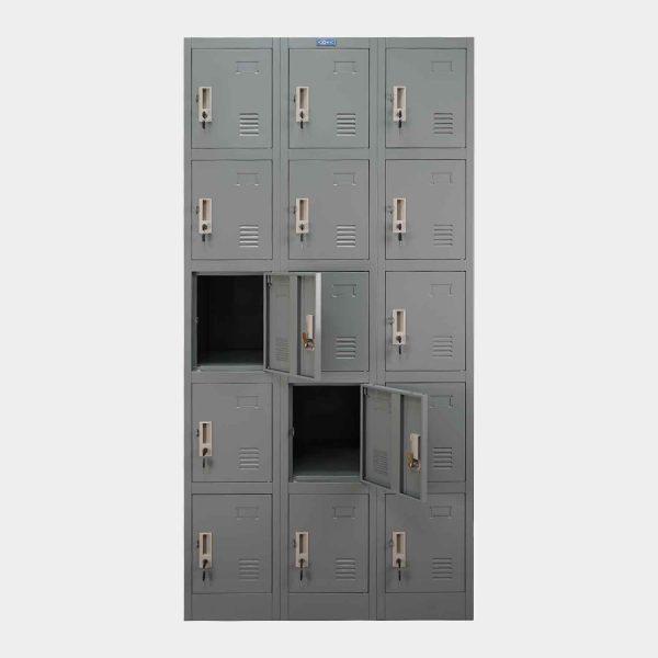 ตู้ล็อคเกอร์,ตู้ล็อคเกอร์เหล็ก,ตู้ล็อคเกอร์เหล็ก 15 ประตู
