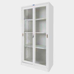 ตู้เหล็ก, ตู้บานเลื่อน, ตู้เหล็กบานเลื่อน, ตู้เหล็กบานเลื่อนกระจกใส, ตู้เอกสารเหล็กบานเลื่อนกระจก