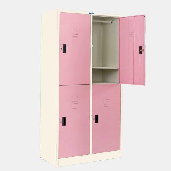 ตู้ล็อคเกอร์,ตู้ล็อคเกอร์ 4 ประตู, ตู้ล็อคเกอร์ 4 ช่อง, ตู้ล็อคเกอร์เหล็ก 4 ประตู, ตู้ล็อคเกอร์เหล็ก 4 ข่อง