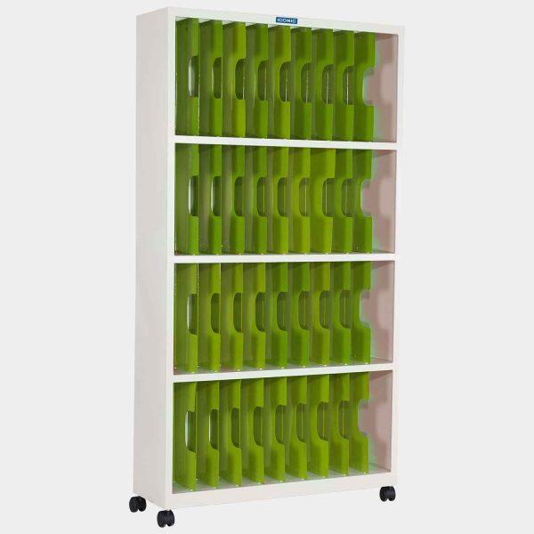 ตู้ใส่แฟ้ม, ตู้เหล็กเก็บแฟ้ม, ตู้เก็บแฟ้ม 40 ช่อง, ตู้ล้อเลื่อนเก็บแฟ้ม