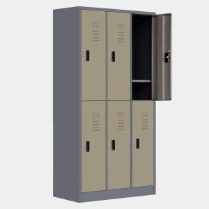 ตู้ล็อคเกอร์, ตู้ล็อคเกอร์ 6 ช่อง, ตู้Locker 6 ประตู, ตู้ล็อกเกอร์ 6 ช่อง, ตู้ล็อกเกอร์ 6 ประตู