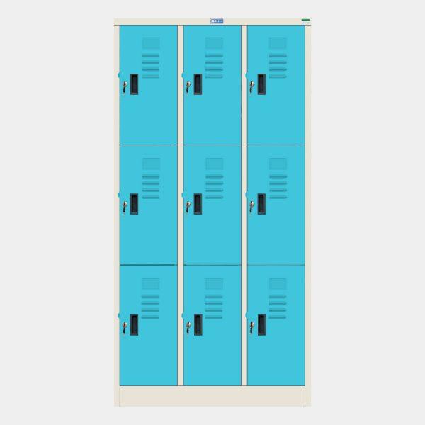 ตู้ล็อคเกอร์, ตู้ล็อคเกอร์เหล็ก, ตู้ Locker, ตู้ล็อคเกอร์เหล็ก, ตู้ล็อคเกอร์, ตู้ล็อกเกอร์, ตู้ล็อกเกอร์ 9 ประตู, ตู้ Locker 9 ประตู