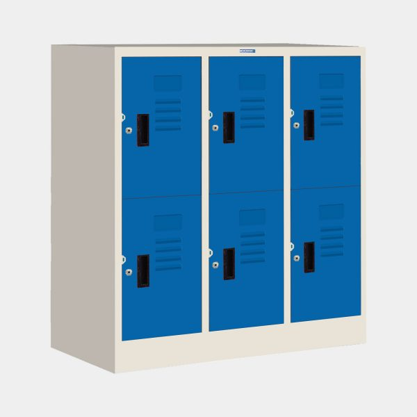 ตู้ล็อคเกอร์, ตู้ล็อคเกอร์เหล็ก, ตู้ Locker, ตู้ล็อคเกอร์เหล็กแบบเตี้ย, ตู้ล็อคเกอร์เตี้ย, ตู้ล็อกเกอร์, ตู้ล็อคเกอร์เตี้ย, ตู้ล็อกเกอร์ 6 ประตูเตี้ย, ตู้ Locker 6 ประตู